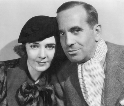 Al Jolson and Ruby Keeler