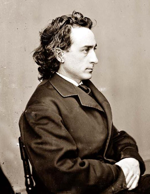 Edwin Booth portrait by Matthew Brady